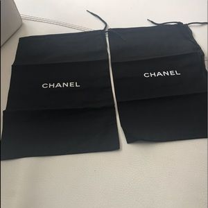 CHANEL Shoes Dust Two Bags